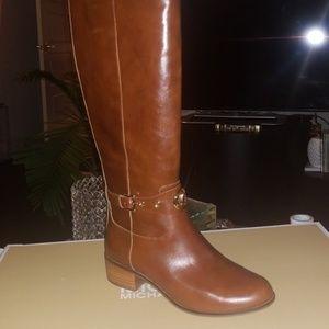 Michael Kors Caramel Heather Riding Boot